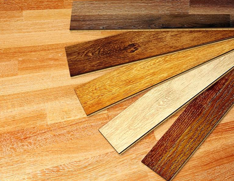 Woodflooring samples