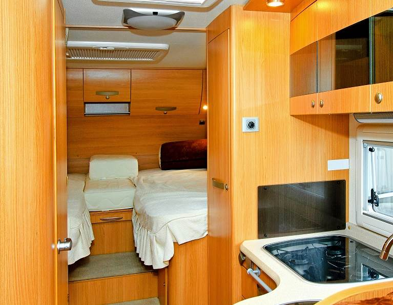RV Interior Assembled with RAKOLL® Woodworking Adhesives